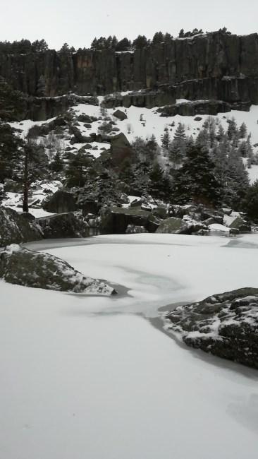 Laguna negra en primavera