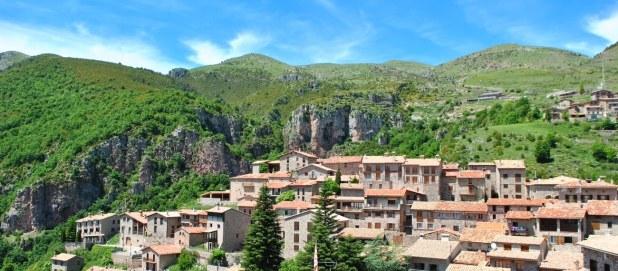 ruta de senderismo al nacimiento del Llobregat. Castellar de N´Hug