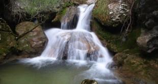 Cascadas en el Desfiladero del Río Ayuda