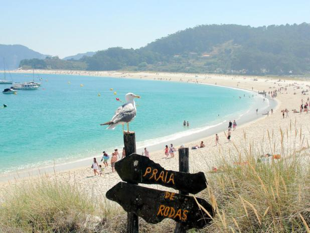 Playa de Rodas Islas Cíes