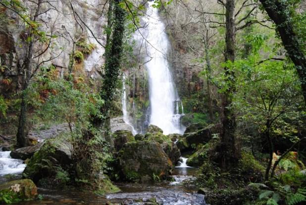 ruta por las cascadas de Oneta. Cascada de Firbia