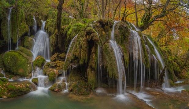 Cascadas de la Tobería
