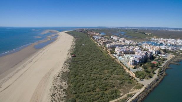 Isla Canela, Playas de Huelva