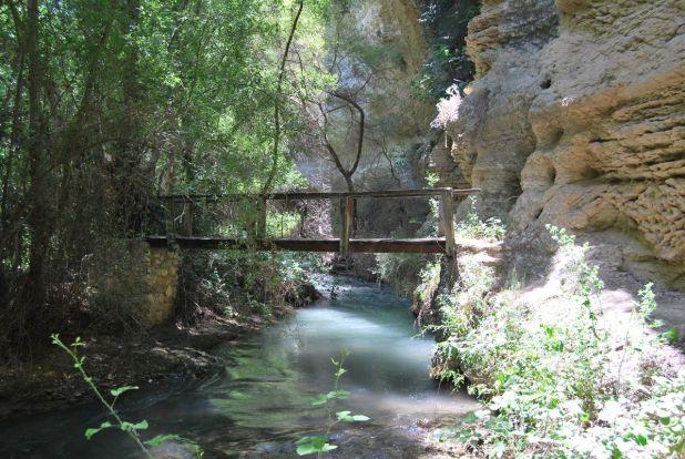 Puentes en el río Cacín