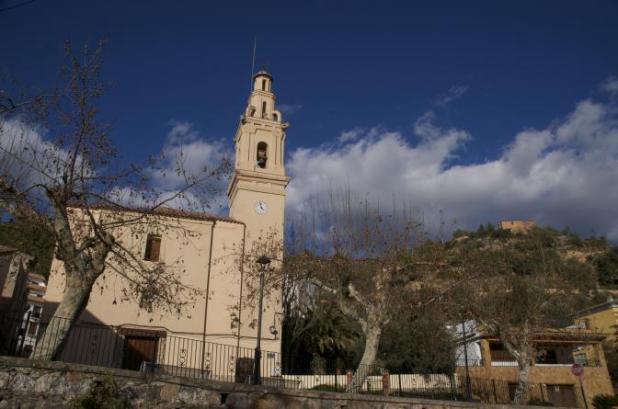 Iglesia de Fuentes de Ayodar