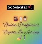 Peluquera y experta en Acrílico