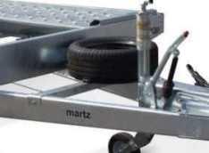 Remolque porta-coches basculante Martz