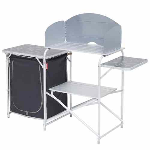 mueble cocina con almacen plegable