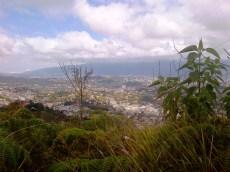 Espectacular vista del valle Caracas
