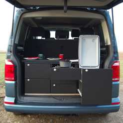VW Camping Ausbau Heckküche Heckmodul