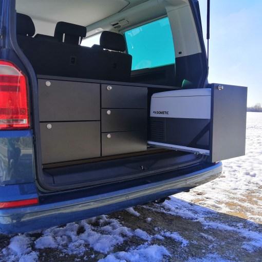 Heckmodul Heckküche VW T5 T6 T6.1 Kühlbox Dometic