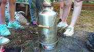 Kelly kettle fire lighting challenge