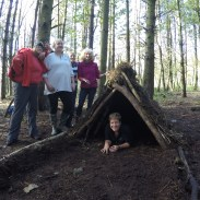 Team shelter building