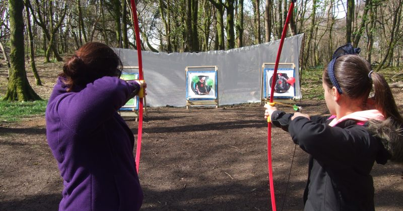bushcraft Bridgend archery Bridgend