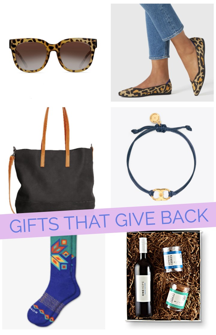 Gifts That Give Back + Holiday Sales