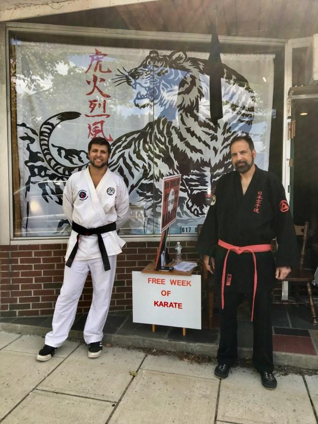 Karate for kids near belmont