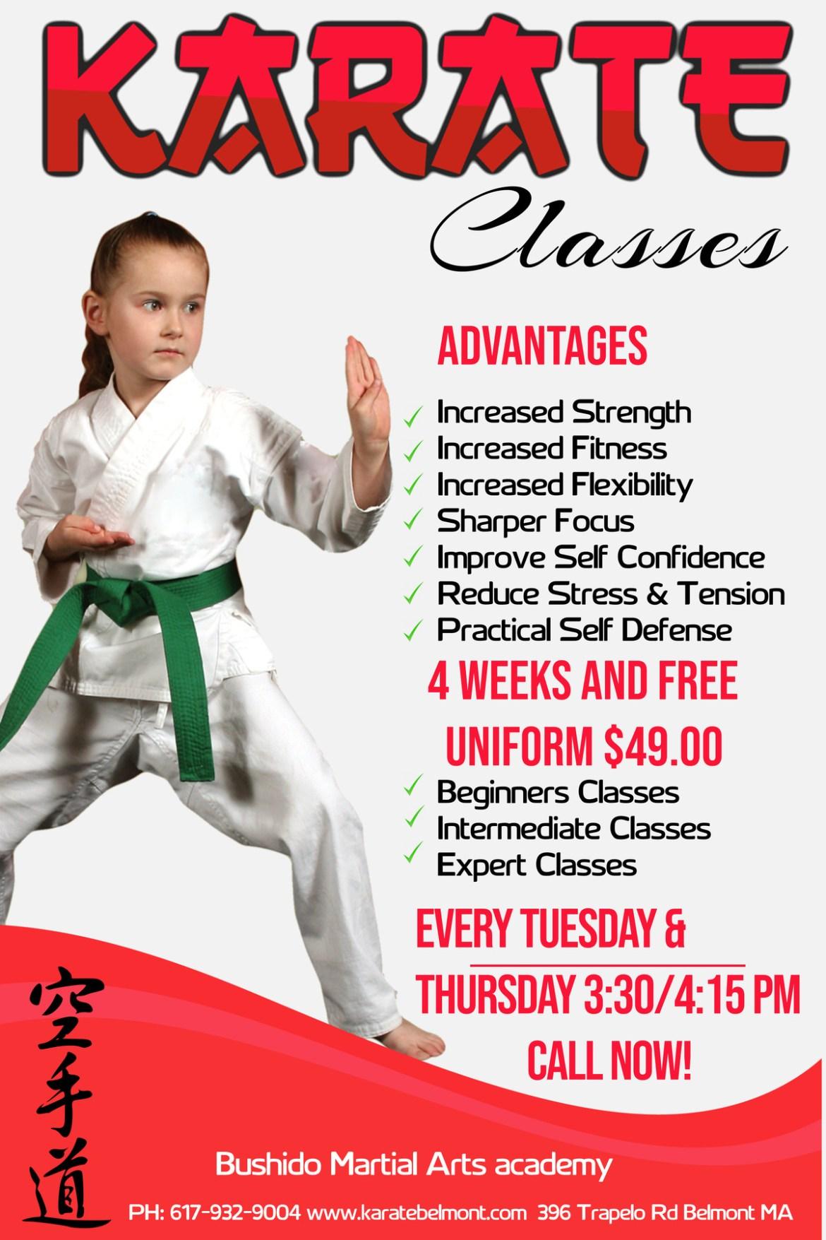 karate kids class waltham ma