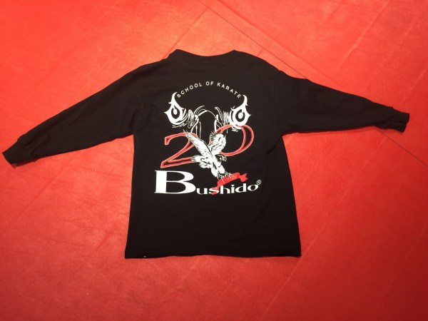 black long sleeved kids tshirt