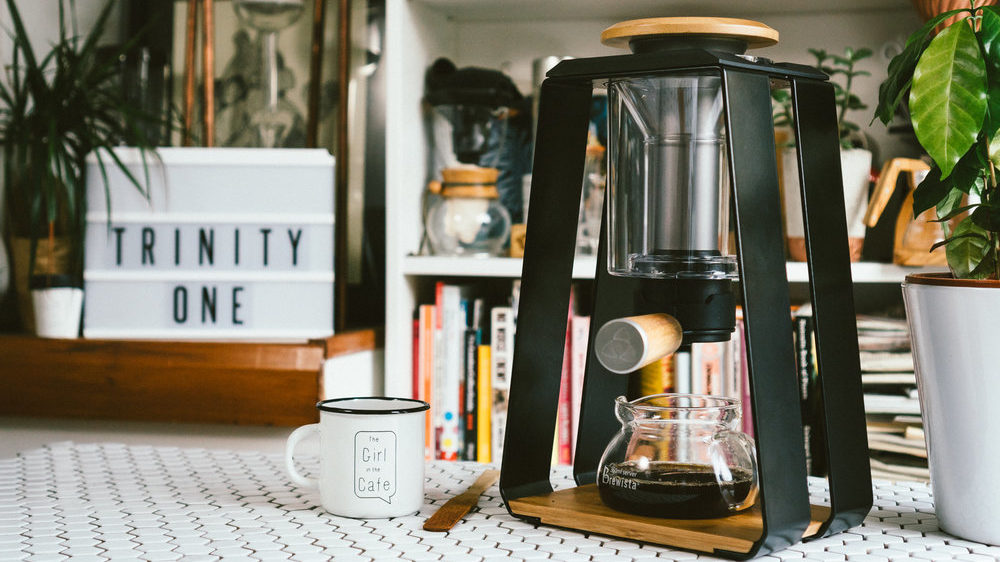 TRINITY COFFEE MAKER AU RAKU CAFE