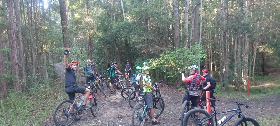 Ewan Maddock Dam Social Ride 07/04/2019