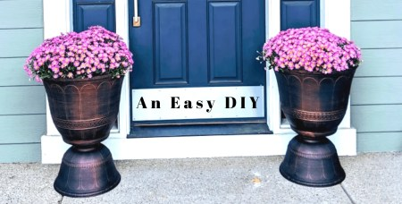 Do It Yourself Designer Planters