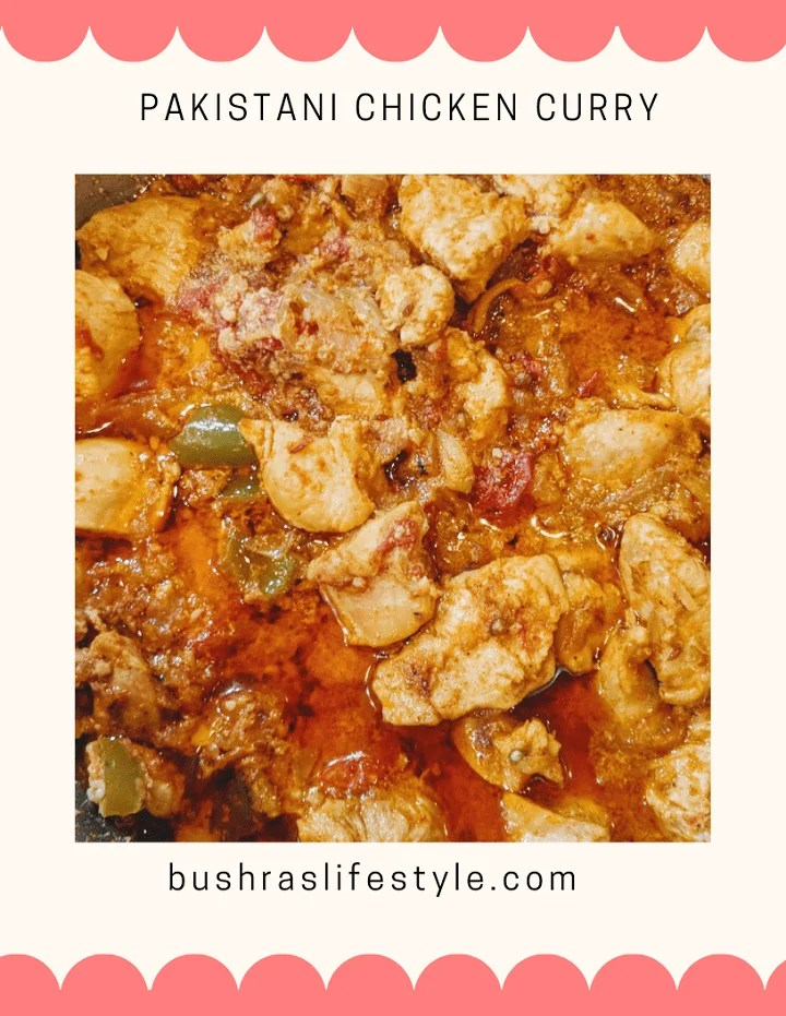 Chicken curry family recipe