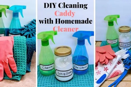 A Cool DIY Cleaning Caddy Under $10