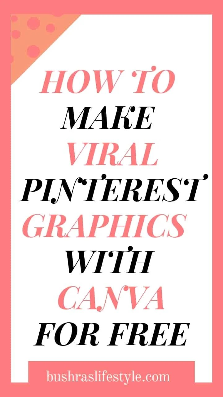 how to make pinterest graphics for free