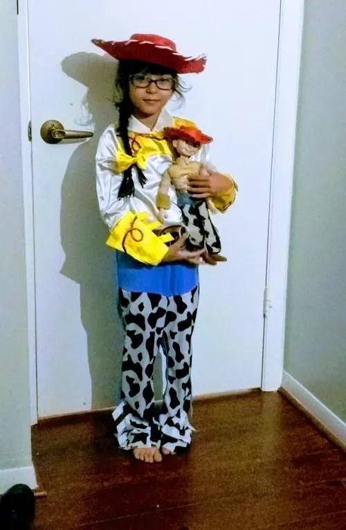 Jessie toy storey halloween costumes for kids