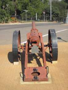 The Könisgberg gun view from the rear.