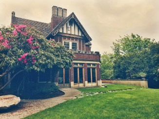 sun room/Gracemont lawn