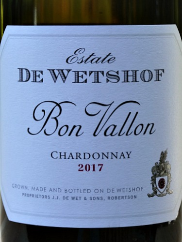 De Wetshof Bon Vallon 2017 scored 91 points in Tim Atkin MW South Africa Special Report 2018. High marks for a wine at this price. This is a stunning almost Chablis like style with a touch of Burgundy look alike. Wonderful food wine it makes you realise just how good a sub £12 Chardonnay can be. Family run De Wetshof are Chardonnay experts. Our price just £10.75 a bottle is a bargain.