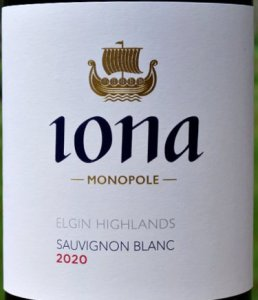 Iona Sauvignon Blanc 2020 a world class Sauvignon Blanc from South Africa: Highly recommended by Jancis Robinson MW, Greg Sherwood MW 92+ points. Stunning aromatic white, complex, full flavoured; wonderful texture., very long.