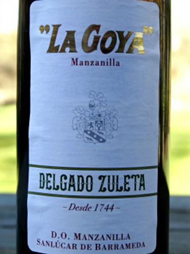 La Goya Manzanilla Silver Medal Winner Fantastic dry sherry from Spain
