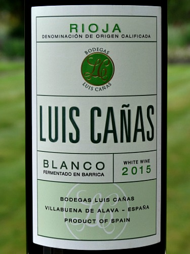 Luis Cañas Barrel Fermented Blanco 2015 is a stunning, lightly oaked white Rioja with lemony freshness and great finesse. Made from mature Viura and Malvasia grapes; 60 year old vines. Fantastic food wine. Brilliant value from Bush Vines