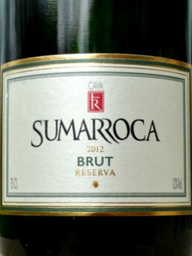 Sumarroca Brut Reserva Cava 2012 is an elegant, fresh and stylish fizz. Step up on basic cava with nice balance and light toasty notes. Bags more flavour than Prosecco. Bottle fermented; made in the traditional method