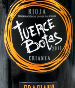 Bodegas del Medievo Tuerce Botas Crianza 2011; top 100 Wines from Spain 2014. One of the best Rioja Graciano we have tasted.