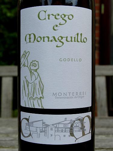 Crego e Monaguillo 2016 Godello. Brilliant Godello from Galicia, NW Spain.