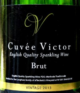 a'Beckett's Cuvée Victor Brut 2013 is a s light, dry, fresh English Sparkling Wine. Fantastic value in our offer £17.99.