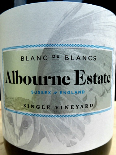 Albourne Blanc de Blancs 2013; brioche, baked apple, apricot aromas and flavours complement crisp fruit. Elegant, expressive Sparkling wine, complex, beautifully textured and balanced. Fine and persistent mousse. Only 2800 bottles produced from West Sussex boutique vineyard.