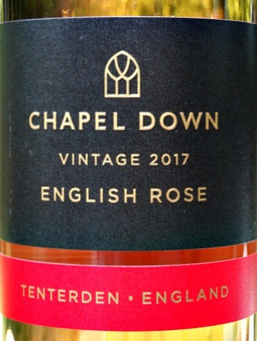 Chapel Down English Rose 2017; strawberries and cream aromas; full flavours of strawberries and raspberries with a crisp, refreshing finish. Smooth, perfect balance; effortlessly drinkable English Rose. Perfect summer aperitif and excellent with food. Great value from Bush Vines at £10.50