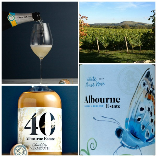 Tutored Tasting at The Grape Escape - award-winning wines from Albourne Estate in West Sussex; Taste stunning Sparkling & Still wines plus a Vermouth; learn about the story behind these amazing wines.