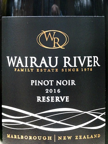 Refined and complex Pinot Noir. Wairau River Reserve Pinot Noir is a medium bodied Pinot with an array of dark fruits entwined with savoury richness and subtle toasty oak. Made from the best grapes in one of the top Marlborough producers. A beautifully balanced Pinot Noir at a competitive price.