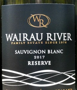 Elegant, complex NZ Wairau River Sauvignon Blanc Reserve 2017. This is a stunning Sancerre style NZ Sauvignon, wonderful flintiness in its aromas, and beautifully balanced palate with zing and light tropical fruit. The flavours go on and on. Made from the best grapes grown in small parcels on the Rose family vineyards in Marlborough.