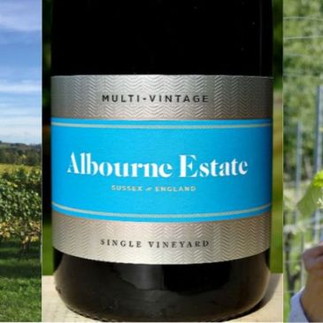 Albourne Estate Multi-Vintage Brut; brilliant new release English Sparkling Wine from West Sussex Estate; very champagne like, excellent value, real class in a glass.