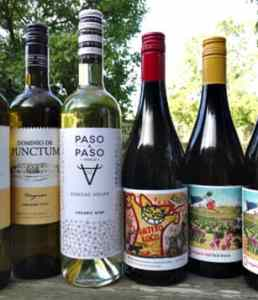 Spanish Organics Case Offer, a bargain case of 3 delicious whites and 3 terrific red. Fantastic quality and value organic wines from Spain
