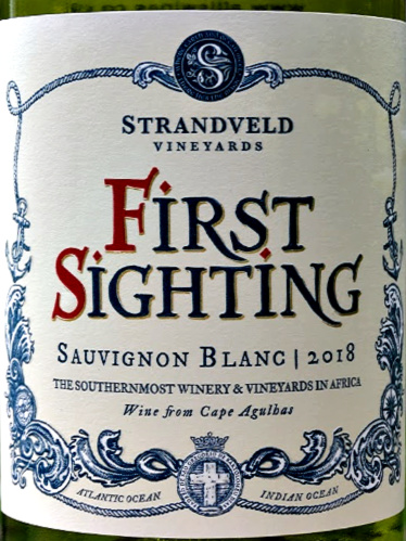 Strandveld First Sighting Sauvignon Blanc immediately gets attention with its refreshing, elegant aromas of tropical fruit and citrus. It is beautifully balanced, with lovely texture and mouth feel. Like a good Sancerre, this wine is from cool climate South Africa. Decanter Gold Medal: 96 points. Platters 4.5 stars. Greg Sherwood MW Highly Recommended.