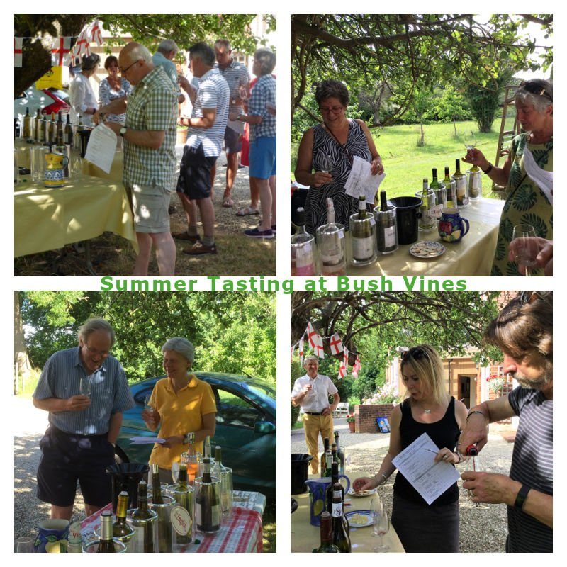 Wine Tasting Near Emsworth 24 and 25 July. Great way to discover exciting new wines, many organic at brilliant prices