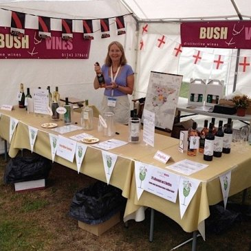 Emsworth Show 2021, Bush Vines will be here with some fantastic wines by the glass