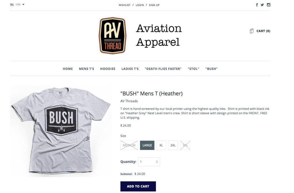 Bush_sale